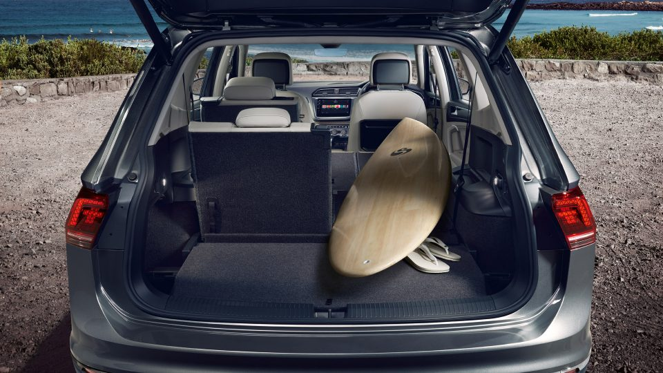 Space to surf with the Tiguan Allspace