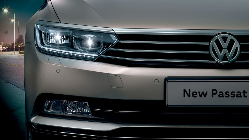 Passat headlights