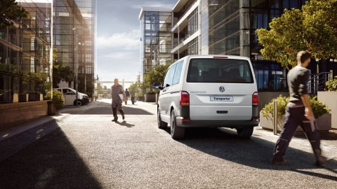 Transporter Panel Van has 2 tail-end solutions