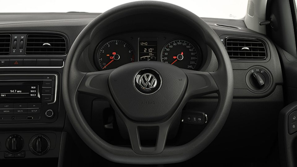 Polo Vivo multi-function steering wheel