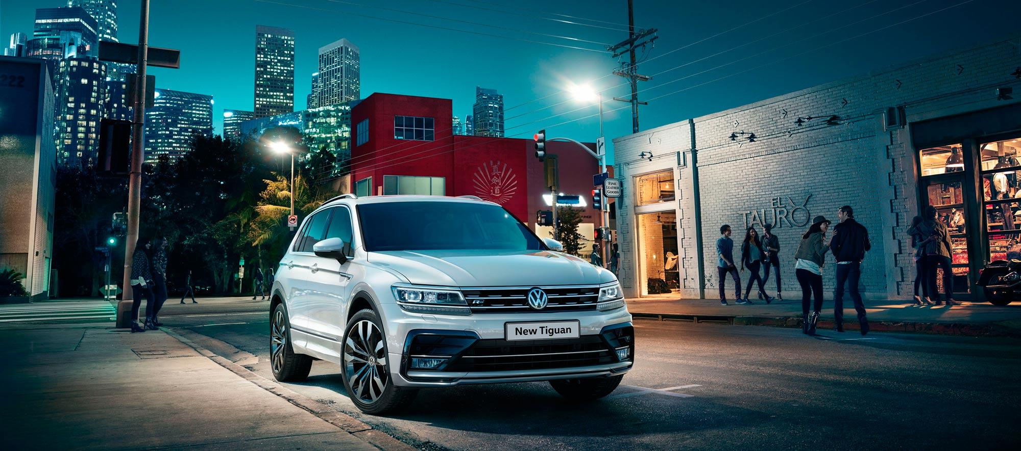 The New Tiguan